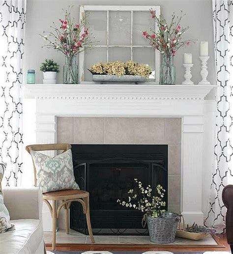 chimenea de decoracion como decorar una chimenea mundodecoracion info