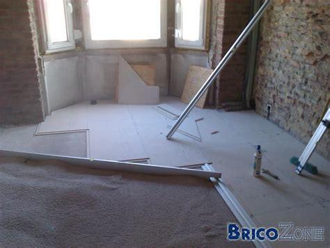 chape sèche sur plancher bois 1266 isoler sol garage pour faire chambre isoler sol garage