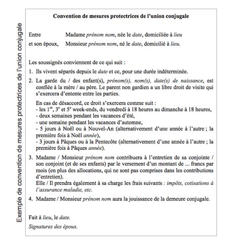 Exemple De Lettre Temoignage Divorce Convention Garde Altern 233 E 224 L Amiable Uomo Innamorato Comportamenti