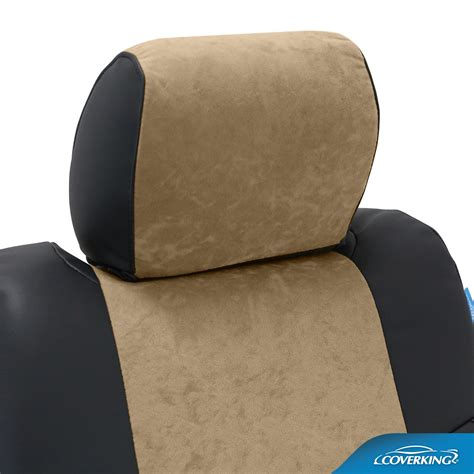 fit seat covers coverking alcantara custom fit seat covers
