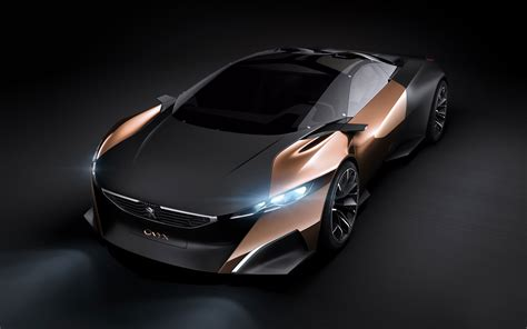 2012 Peugeot Onyx Concept Wallpaper Hd Car Wallpapers