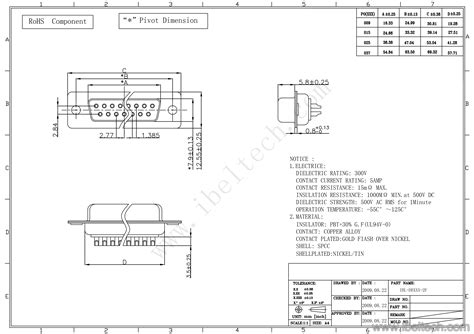 female db   rs pin uart connector ibelieve