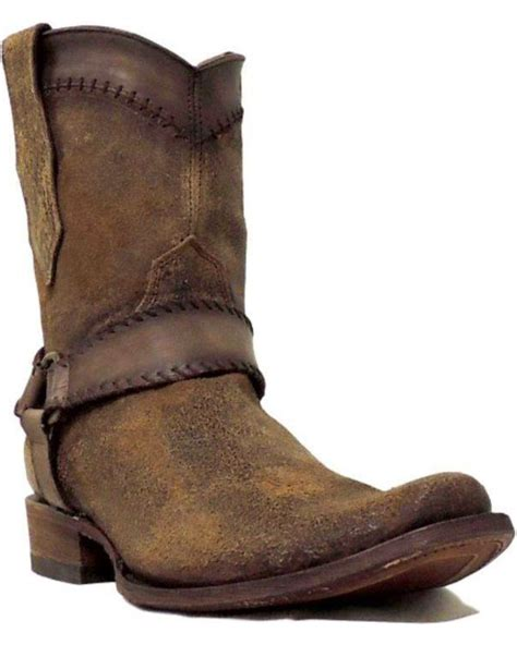 narrow boots for corral s cognac harness ankle boots narrow square