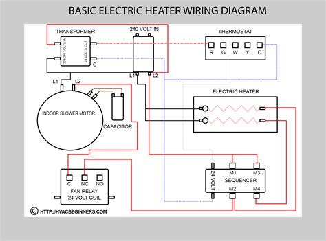 hvac electrical diagram image gallery hvac relay wiring diagram