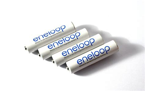 Sanyo Eneloop Rechargeable Aaa Ni Mh Batteries 750mah 4 x sanyo eneloop rechargeable battery aaa micro 750 mah geocoinshop eu geocaching shop