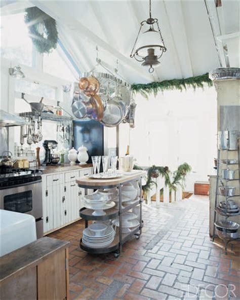 Kitchen Island Hanging Pot Racks 15 rustic kitchen decor ideas country kitchens design