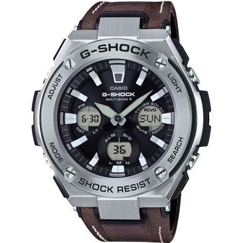 Casio G Shock Ga100 Dualtime hommes casio g steel vintage style alarme chronographe radio pilot 233 montre gst w130l 1aer