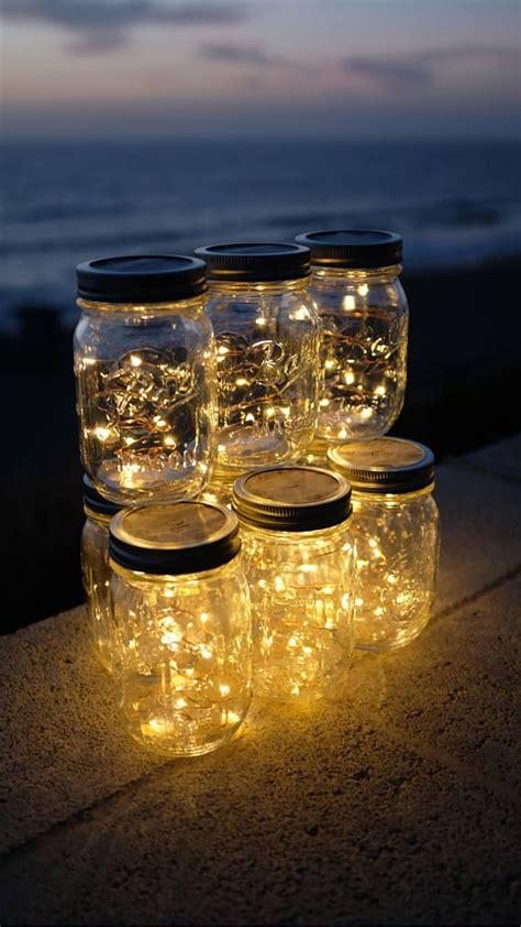 jar firefly lights firefly lights and jar outdoor lightning rustic