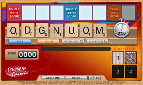 sprint scrabble two new and another daily special added to