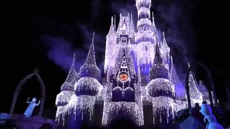 Wdw Christmas Decorations Disney S 2015 Frozen Holiday Wish From The Magic Kingdom