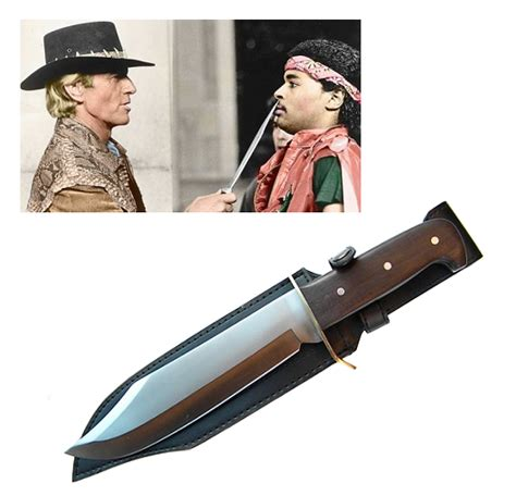 dundee bowie knife traditional crocodile dundee bowie knife knifes