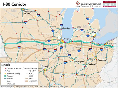 map us hwy 80 i 80 mid america freight coalition