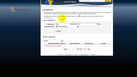 tutorial world wide web webhosting hub cpanel tutorial overview free