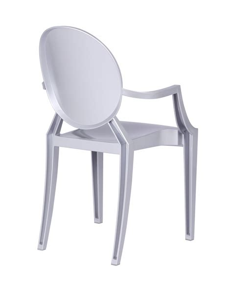 silver armchair throne chair brickell collection modern furniture store