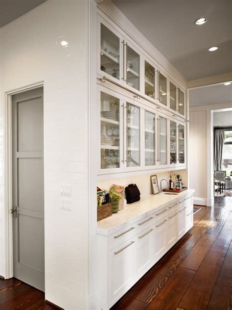 modern butlers pantry contemporary kitchen dillon