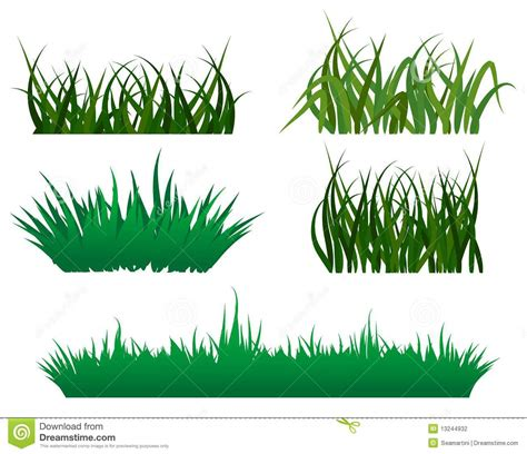 pattern grass vector green grass patterns stock photography image 13244932