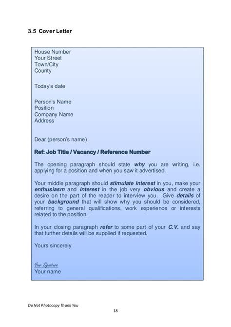 Lcvp Work Experience Letter Transition Year Work Experience Voc Preperation