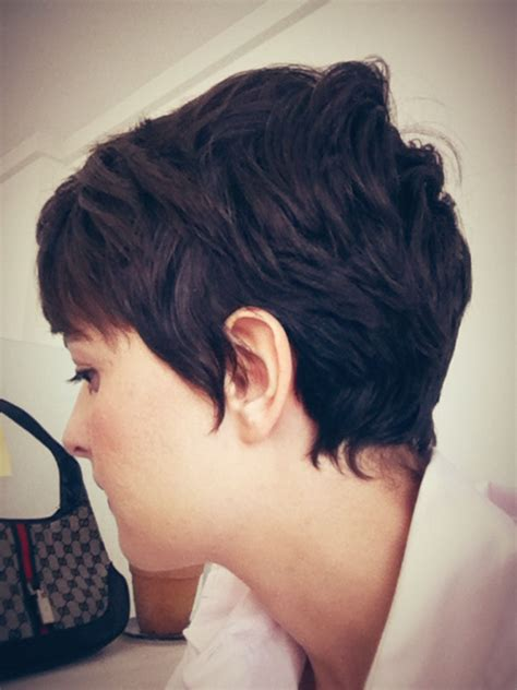 a line cuts pixie pixie haircut with feminine neck line love it when they