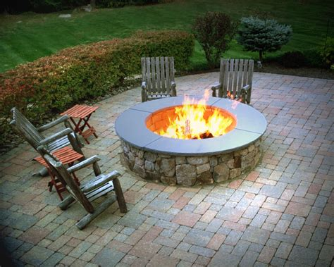 natural stone fire pitwould love  add