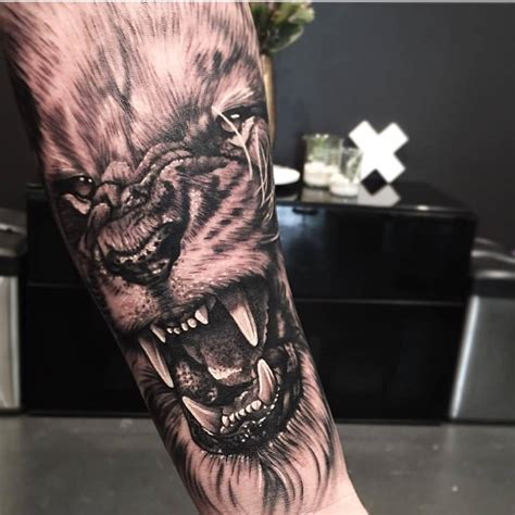 cool lion tattoo designs 30 terrific levi barnett on arm golfian