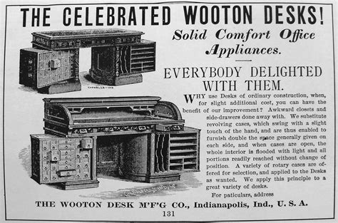Hoosier Desk Company History by Woot Woot For The Wooton The King Of Desks Historic