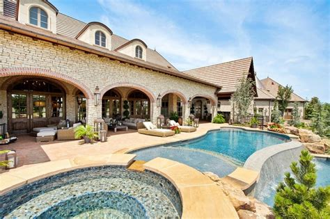 country style pools country traditional pool santa barbara by