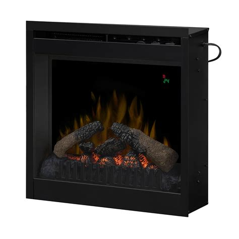 Electric Fireplace Logs Dimplex 20 In Electric Fireplace Insert Df2024l