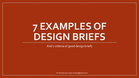 design brief for a house exles of design briefs systems pinterest