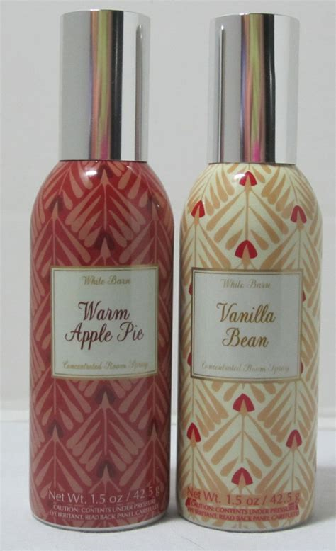 White Barn Candle Room Spray by New Bath Works Cranberry Woods Concentrated Room