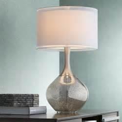 best table lamps possini euro design swift modern mercury glass table lamp