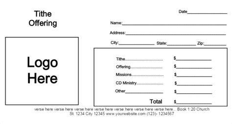 Tithe Envelope Template by Offering Envelope Template 883 Templates Data