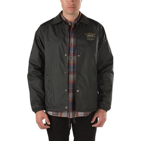 Jaket Vans torrey coaches jacket shop mens jackets at vans