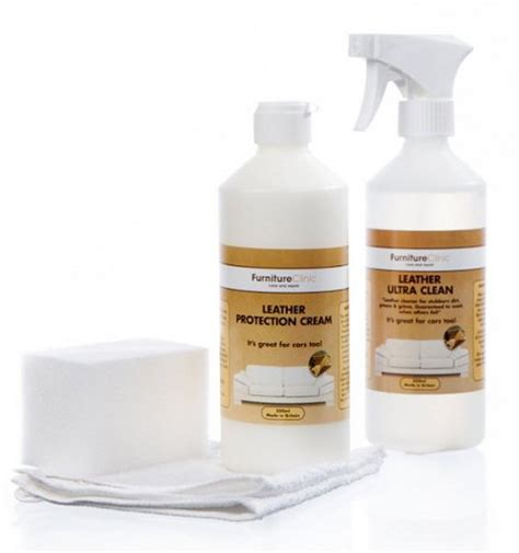 Leather Sofa Care Kit by Leather Care Kit Leather Cleaner And Protection