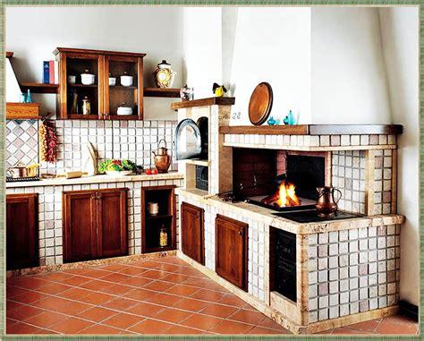 Camino Forno by Cucina Con Camino E Forno A Legna Riferimento Di Mobili Casa