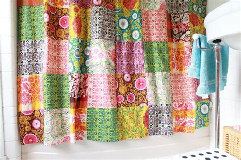 Patchwork Curtains - 9 patchwork curtains along with tutorials guide patterns