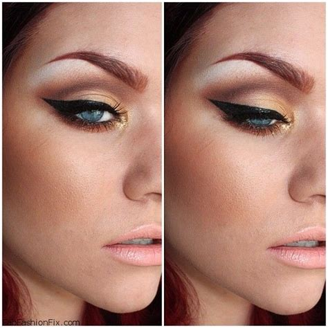 Eyeshadow And Eyeliner how to create the cat eye make up look fab fashion fix