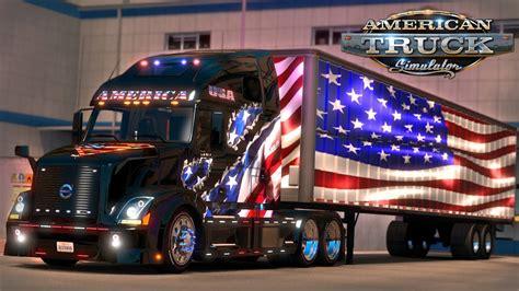 american truck simulator  tribute flags   york ny youtube