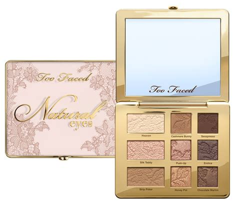 Faced Palette Original Faced It Just Comes Naturally Collection News