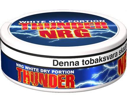 Thunder Nrg Portion Swedish Snus 1 Can thunder nrg white portion buy swedish snus from
