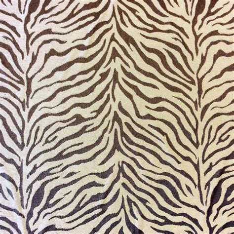 zebra upholstery fabric hd39 brown zebra silky drapery animal print africa