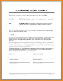Marriage Separation Agreement Template by Doc 400518 Separation Agreement Form Marriage
