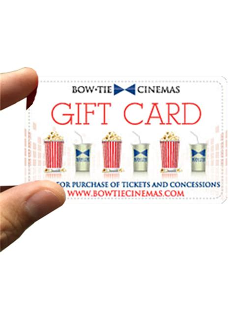 Bow Tie Cinema Gift Card - movie gift cards
