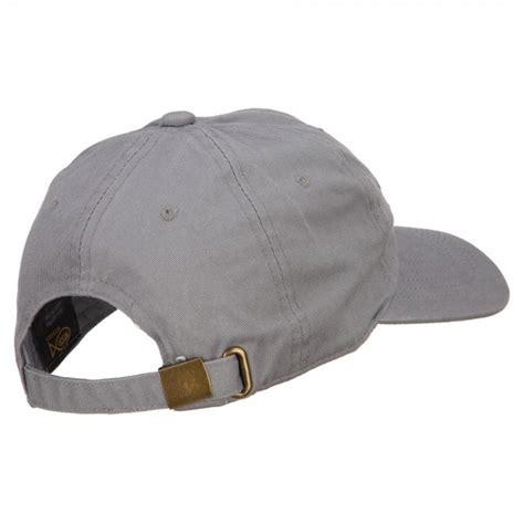 Lettering Embroidered Cap embroidered cap grey mexico letters embroidered cap