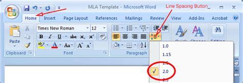 Mla Format Microsoft Word 2013 Mla Format Microsoft Word Mla Template