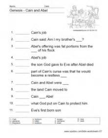 old testament worksheets