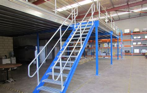 Mezzanine Stairs Design Platform Systems Mezzanine Floors