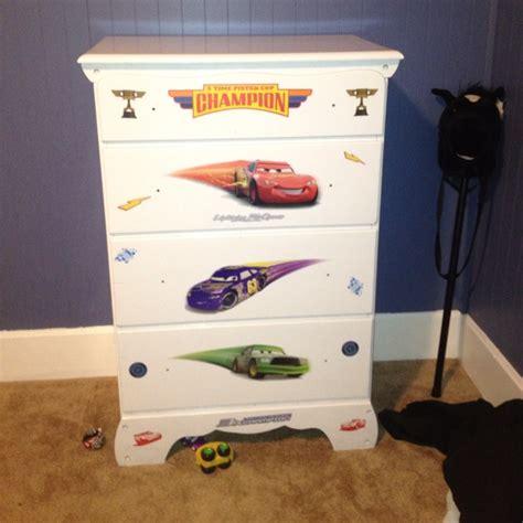 Disney Cars Dresser by Disney Cars Themed Dresser Boy S Room