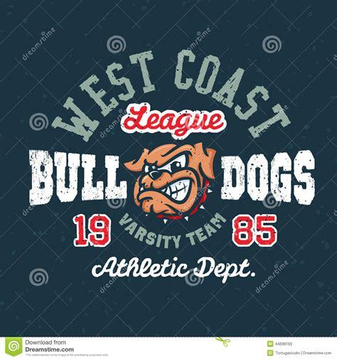 T Shirt Time Team vintage sport varsity apparel design stock vector image