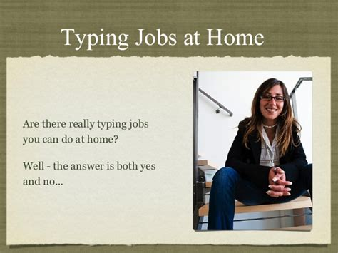 home typing are they real