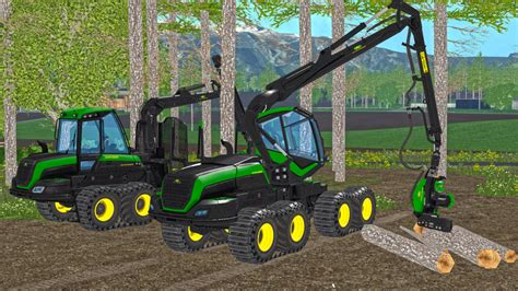 John Deere Forest V 1.0 Farming Simulator 2017 mods, Farming Simulator 2015 mods, FS 2015, LS